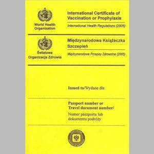 Międzynarodowa książeczka szczepień